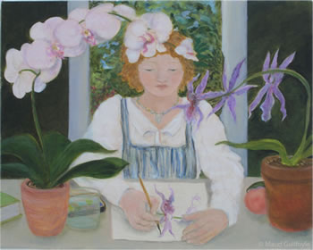 Orchid Painter II