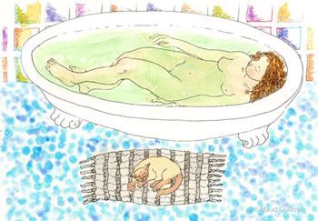 Bather after Bonnard